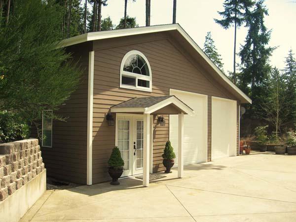 Juniper design build for Guest house del garage